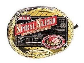 🔥 Pay only $12.17 for Spiral Sliced Ham regular priced $30.42 😱
