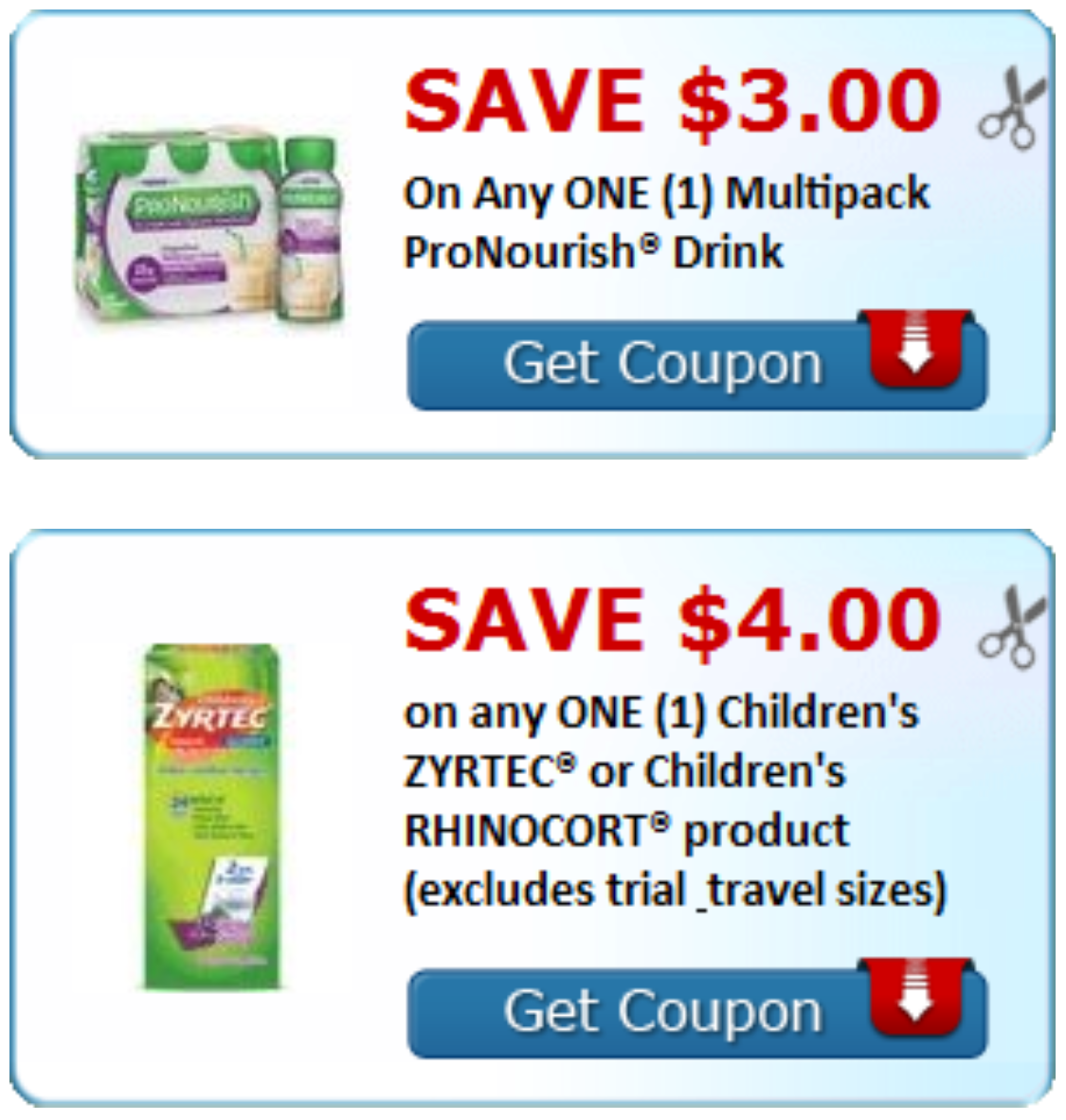 graphic about Zyrtec Printable Coupon $10 identify Print your Conserving for ProNourish Zyrtec Directly In this article