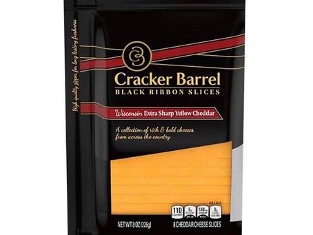 😱50% Savings on Cracker Barrel cheese using Ibotta!
