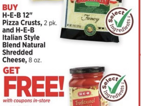 🆓 H‑E‑B Pizza 🍕 Sauce &Disposable Pizza Trays or Disposable Cutting Boards!