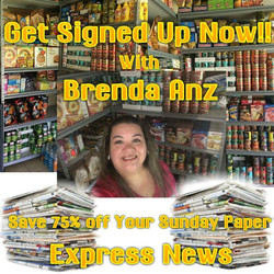 $1 Deal for the Sunday Express News