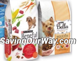 Earn $1.25 when purchasing Purina Beneful Dog Food with ibotta paying only .83 Cents per bag!