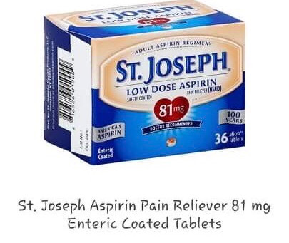🏃🏻♂️.84 cent St. Joseph Aspirin Pain Reliever using HEB DIGITAL Coupon! Stock up!