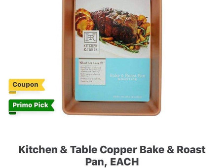 3 Chefstyle Non-Stick Bake & Roast Pan for only $5.11 at HEB this week! Run Deal!