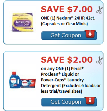 image relating to Nexium Printable Coupon identify Simply click in the direction of Print your Personal savings upon Nexium 24 hr 42 ct and Persil