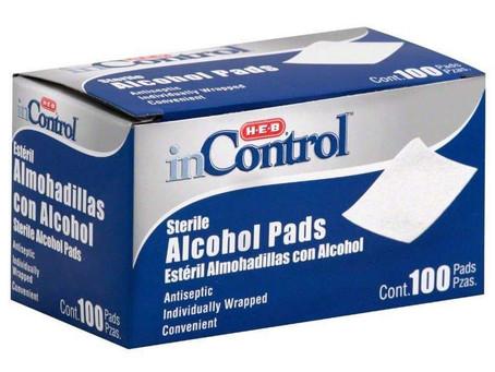 😱 62% Savings on HEB Alcohol pads! Whoo hoo!