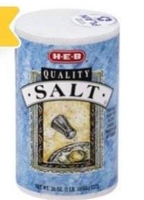 😱4 Salt for only .91 cents. Run Deal at HEB🏃🏻♂️