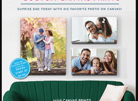 93% off Canvas Pictures. A Gift perfect gift for anyone.  You are going to love the PRICE!