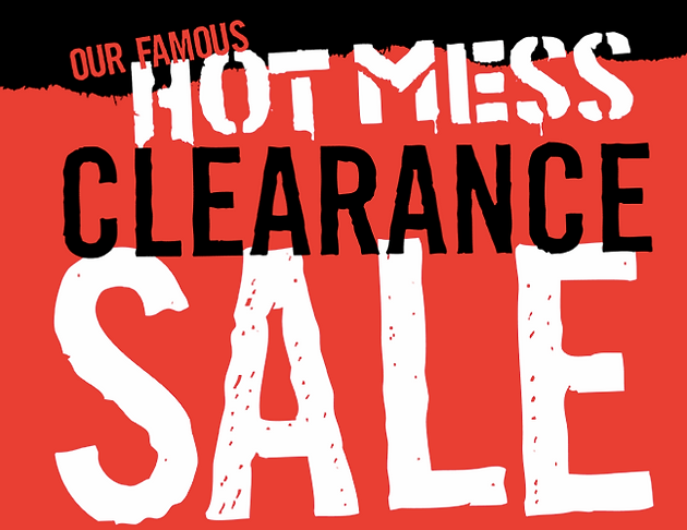 photo about Hot Topic Printable Coupon known as Warm Matter Very hot Mess Clearance!!! Couponing Weblogs United
