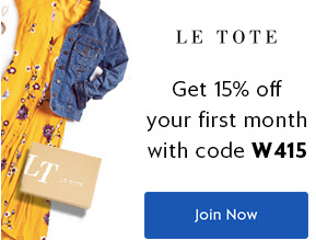 Rent them and Keep the ones you Love with Le Tote!