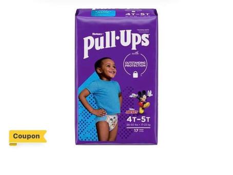😱Pay only $4.94 when buying Huggies Pull-Ups using Ibotta (regular priced $16.94)