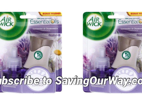 🤩Free air wick scented oil starter kit at Dollar General!👏