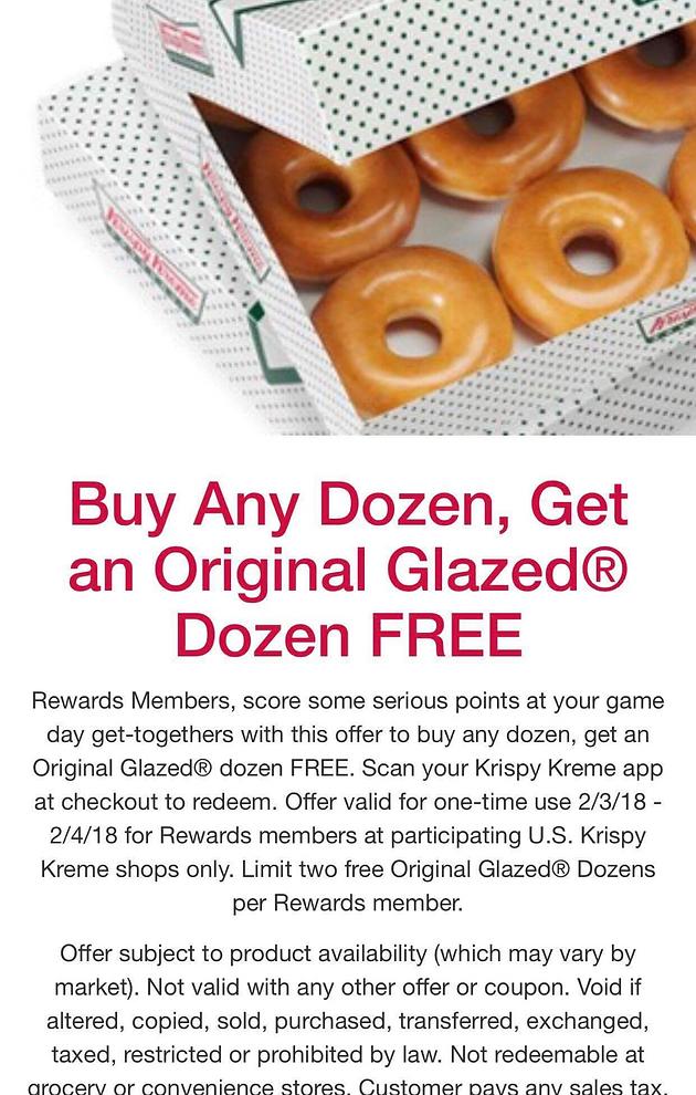 photo about Krispy Kreme Printable Coupon named Cute Deliver @ Krispy Kreme!!!