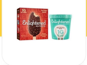 Bogo digital on Enlightened Keto Ice Cream making another Great deal at HEB!