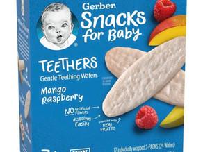 🙌54% Savings on Gerber teethers baby snacks. Stock up!