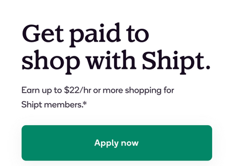 Who is in need of a JOB that loves to shop?! Earn $22/HR Shopping for Shipt members! Tap on pic!