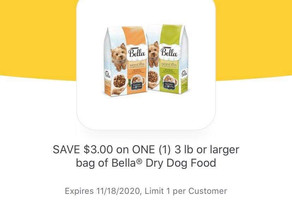 🙌Half price when using $3 coupon for Purina dog 🐕 Food at HEB This week! 📣