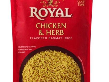 🔇 Free Royal Chicken & Herb rice using ibotta!