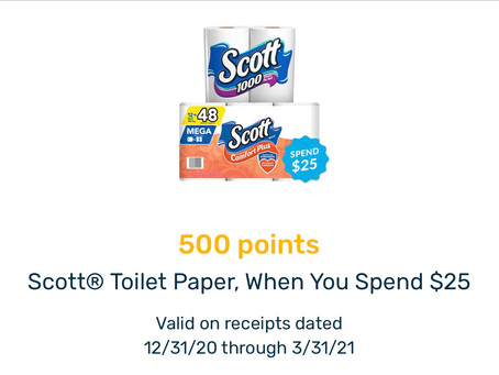 *Use your Digital Coupon for ($1.25 off ) getting a Deal at Wags for Scott Paper Towels!*