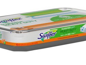 $2 Coupon making Half off on Swiffer Sweeper Duty Wet Mop refills at HEB