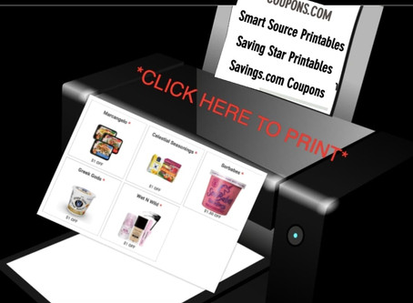 Printable Savings have been Updated on SavingOurWay.com!