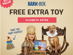 Get your Subscription to BarkBox and Spoil your favorite Pup!