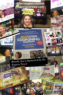 FREE Coupon Classes with Brenda Anz!