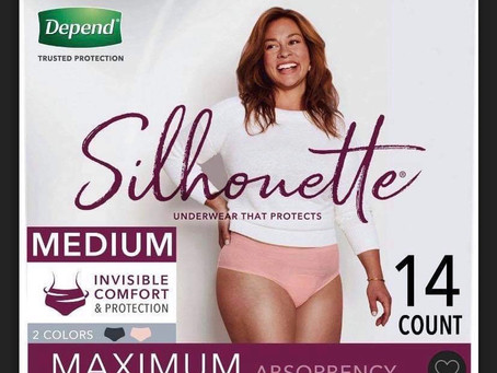 😱Free $11.99 Depends Silhouette using Ibotta. Sign up with my code uscldqn🙌