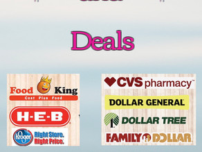 Weekly Sales ads are loaded and ready to get your Shopping Trip set!