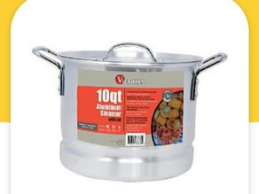 🔇F-R-E-E $10 Victoria aluminum steamer using digital HEB COUPON!📣