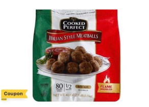 🔇 $2 Digital HEB Coupon making Cooked Perfect Meatballs Homestyle a Great Deal!👀