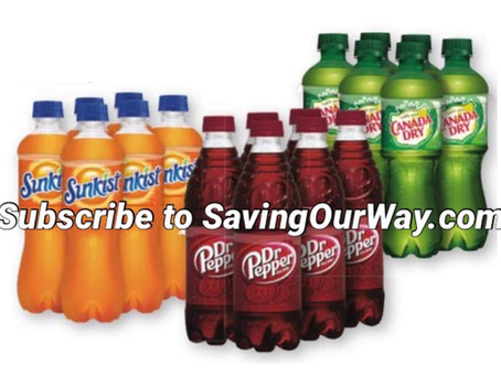 4/$10 Soda 6 pak at Dollar General this week!