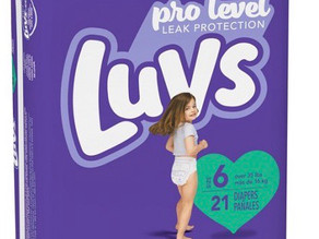 Run Deal Pay $5.94 for 2 Luvs Ultra Leakguards Jumbo packs Diapers! Ends 3/13th