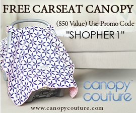 New canopy for free from Carseat Canopy