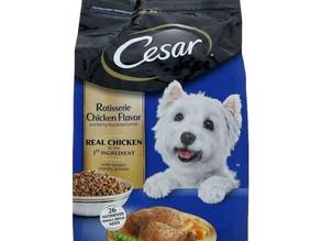👀40% Savings on Cesar dry dog food 2.7 at HEB!
