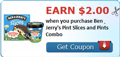 graphic regarding Ben and Jerry's Printable Coupons referred to as Printable Coupon Revenue Ben Jerrys Pint Slices and Pints