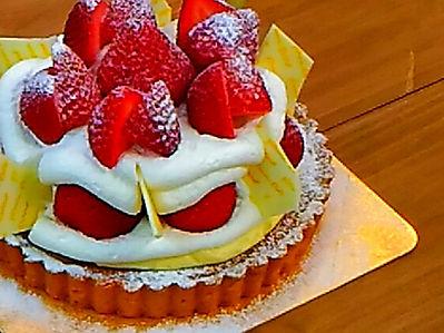 パティスリーアンのバースデーケーキ