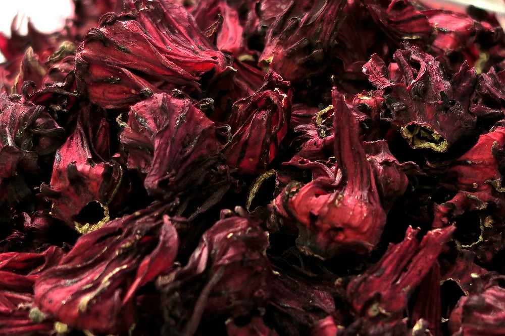 Dried Roselle flowers
