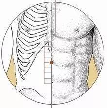 位于人体上腹部,前正中线上,当脐中上4寸。