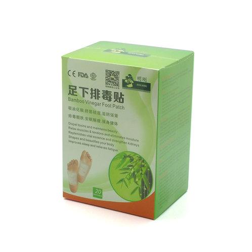 Bamboo Vinegar Foot Detox Patch 足下排毒贴