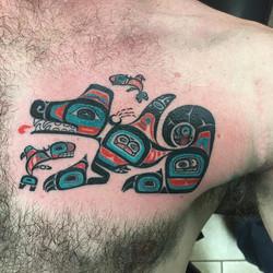 northwestern native american tribal