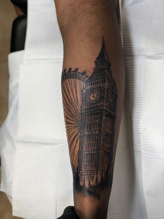 Eye of London/ Big Ben