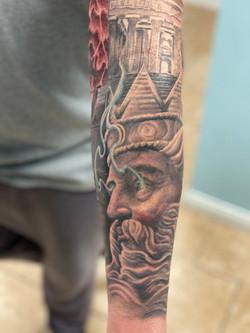Poseidon half sleeve (1)