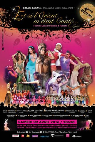 Cette année, le grand spectacle aura lieu le Samedi 09 Avril 2016 au CCVA de Villeurbanne