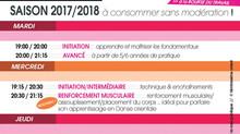 Cours de danse orientale - Inscrivez-vous à un cours d'essai ! Du 12 au 28 Septembre 2017 - Lyon