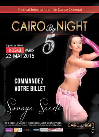 Soraya SAADI, au Festival Cairo by Night à Paris