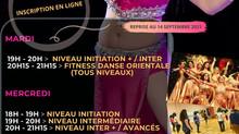 2021/2022 COURS COLLECTIFS DE DANSE ORIENTALE - Lyon/Villeurbanne - Bloque ta place et inscris-toi !