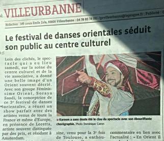 La presse en parle... Festival 2015