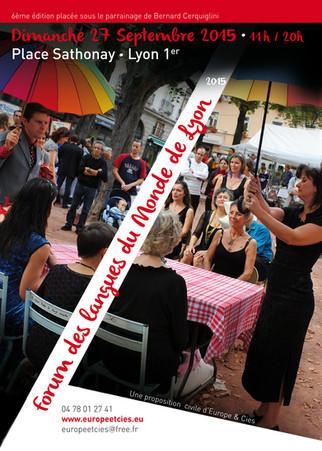 Danse kabyle au Forum des Langues du monde de Lyon
