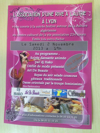 Soirée dansante solidaire autour de la culture algérienne